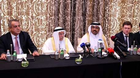 Oil ministers explain the plan among oil producers