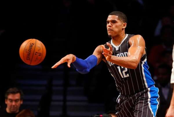 Tobias Harris #12 of the Orlando Magic
