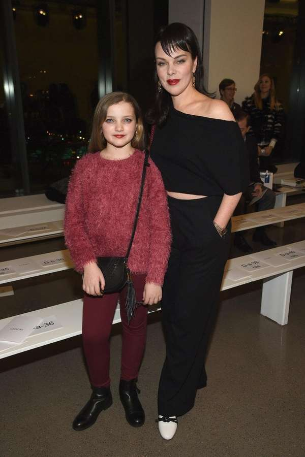 Actress Debi Mazar and daughter Giulia Isabel attend
