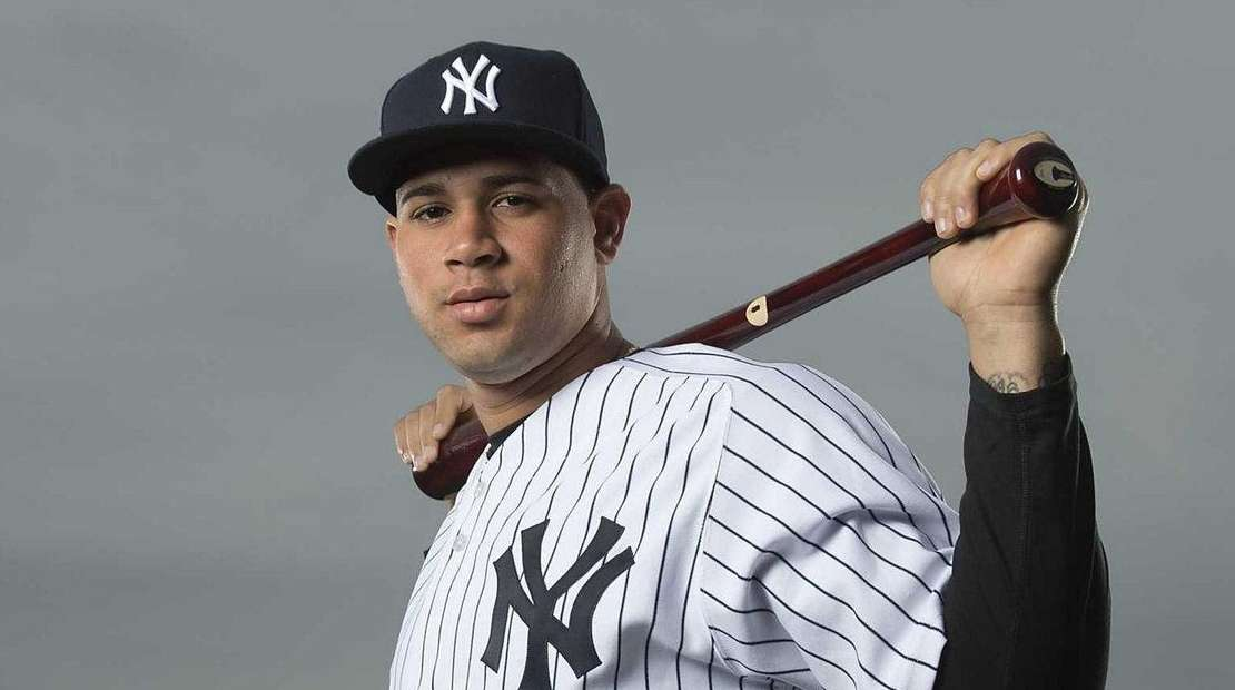 New York Yankees' C Gary Sanchez at George