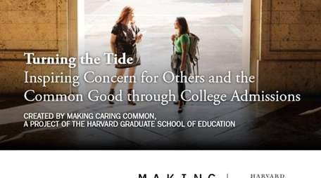 The Harvard Graduate School of Education's report on