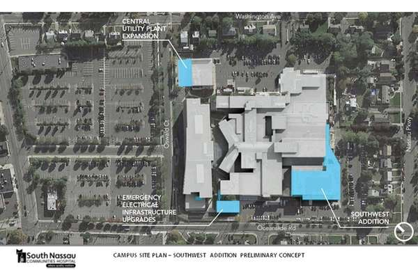 A rendering shows proposed FEMA projects at the