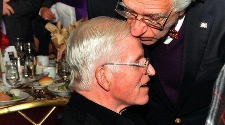 Rabbi Marc Gellman, right, with his friend Msgr.