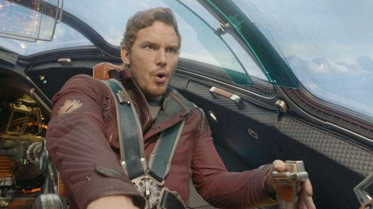 Peter Quill, also known as Star-Lord, played by