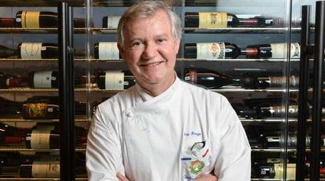 Guy Reuge, known for his stellar cooking at