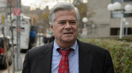 Former State Sen. Dean Skelos on Nov. 24,