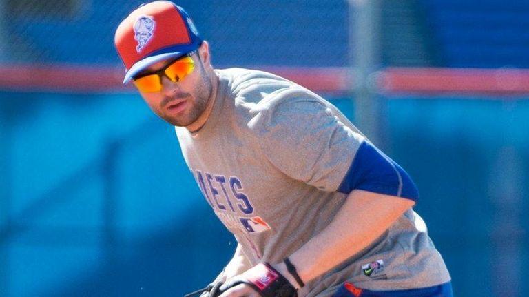 New York Mets infielder Neil Walker during