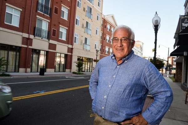 Patchogue Village Mayor Paul Pontieri Jr., stands at