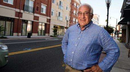 Patchogue Village Mayor Paul Pontieri Jr., stands at