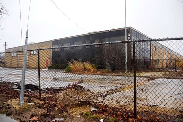 The exterior of buildings located at 70-140 Cantiague