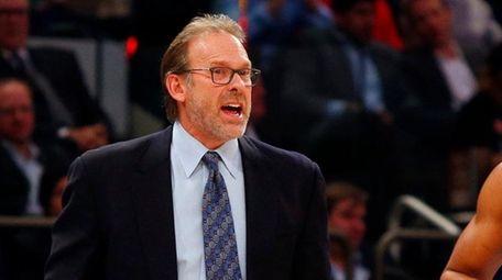 Interim head coach Kurt Rambis of the