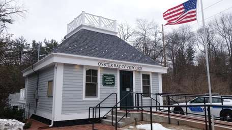 Oyster Bay Cove Police building, seen here on