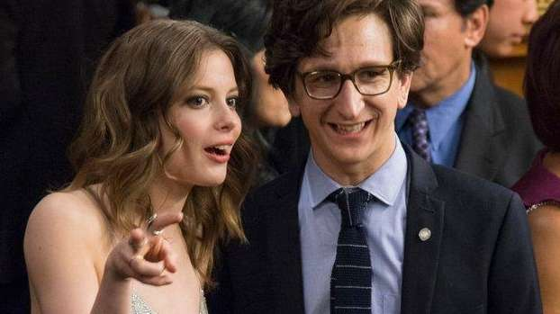 Gillian Jacobs and Paul Rust play the opposites