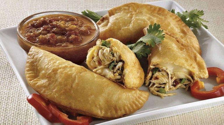 Pollo Campero's empanadas. The newest branch in the