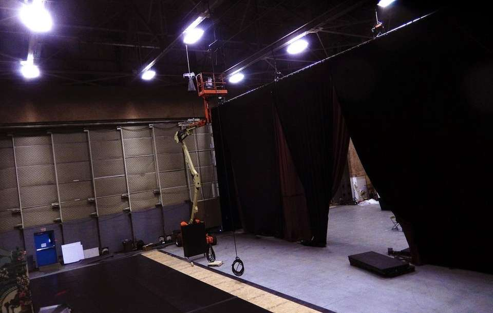 Stage One of Grumman Studios Stage One (formerly