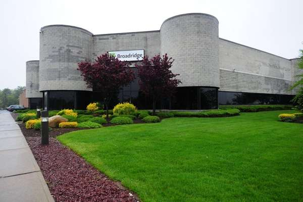 A Broadridge Financial Solutions plant in Edgewood on
