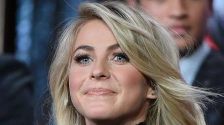 Julianne Hough participates in a panel for