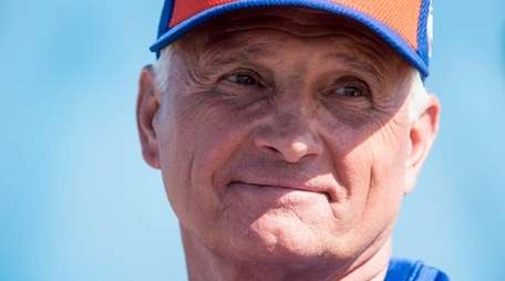 New York Mets manager Terry Collins during a