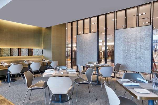 Interior of the Neiman Marcus NM Café at