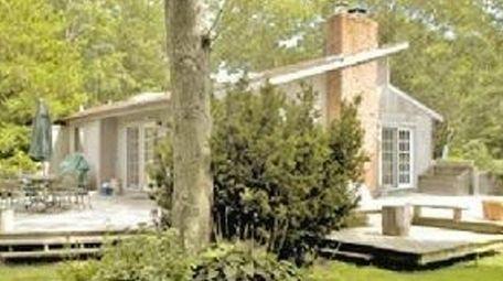 This 4-bedroom, 3-bath home in East Hampton is