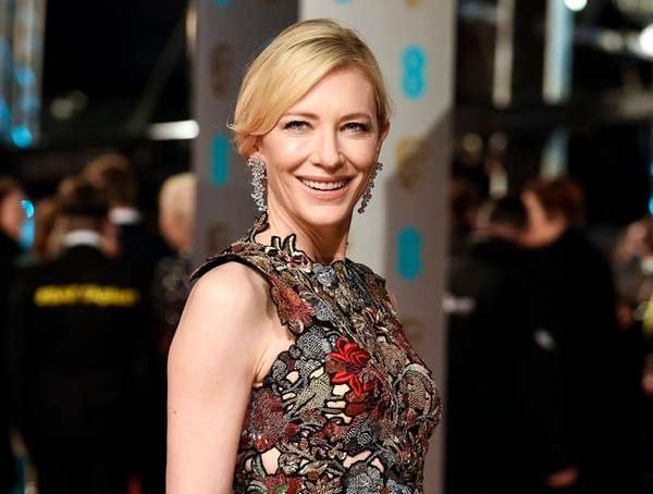 As an Oscar-nominated actress, Cate Blanchett will receive