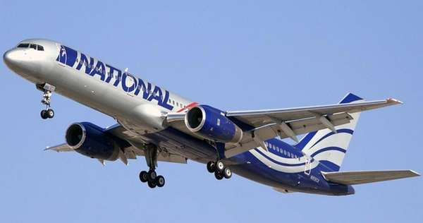 National Airlines provided this image of their B757-200