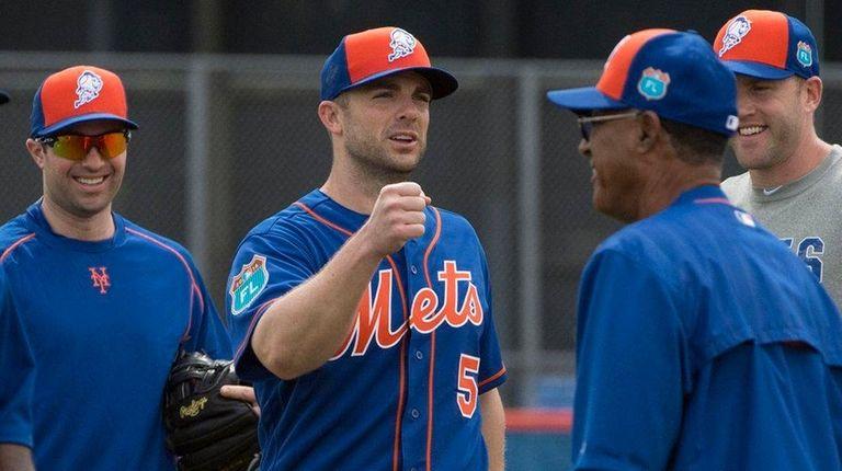 New York Mets team captain David Wright