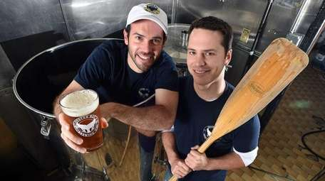 Gabe Haim and Ryan Schlotter, co-owners of Oyster