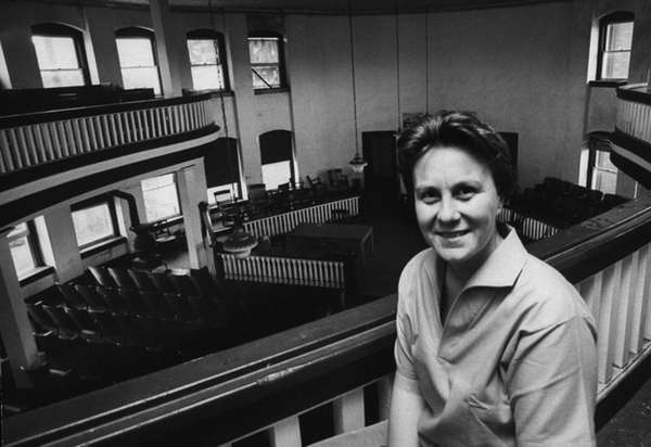 Harper Lee, author of