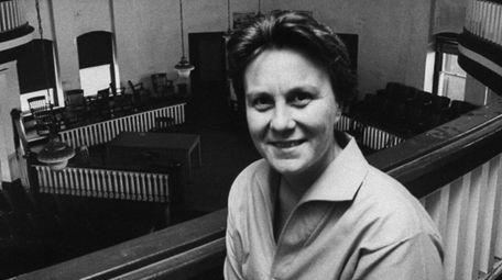 Harper Lee, author of