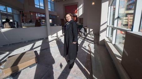 Glen Cove Deputy Mayor Barbara Peebles is shown