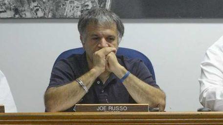 Bayville Deputy Mayor Joe Russo is shown at