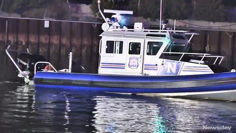 Suffolk County police said three men were rescued