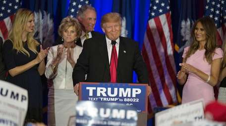 Donald Trump, a candidate for the GOP nomination