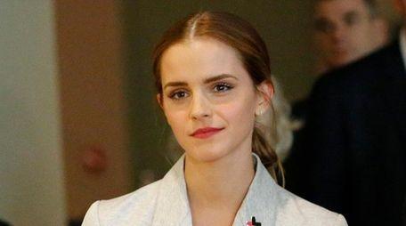 Global Goodwill Ambassador Emma Watson attends the HeForShe