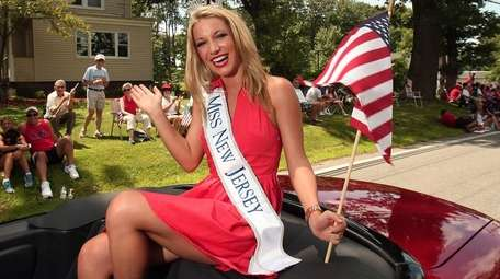Former Miss New Jersey Cara McCollum, who