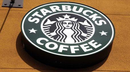 The Starbucks logo seen on Jan. 3, 2012.