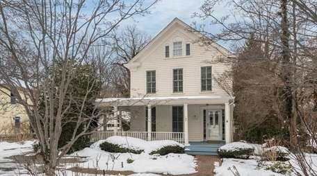 This 1840s Stony Brook Village home is on