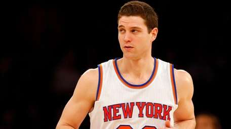 Jimmer Fredette of the New York Knicks