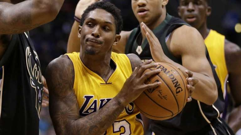 Lou Williams #23 of the Los Angeles Lakers