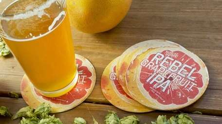 Samuel Adams Rebel Grapefruit IPA delivers citrus and