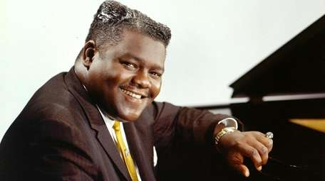 Fats Domino is a subject of note on
