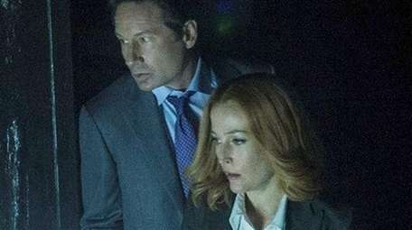 David Duchovny and Gillian Anderson didn't really resolve