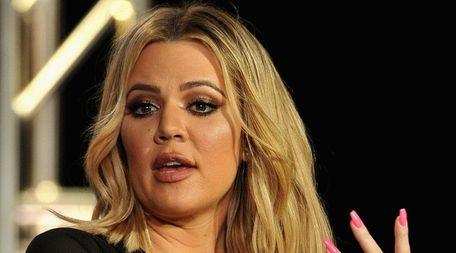Reality TV star Khloé Kardashian spoke about her