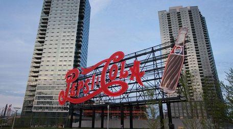 The Pepsi Cola sign in Gantry Plaza State