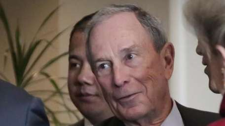 Former New York City Mayor Michael Bloomberg talks