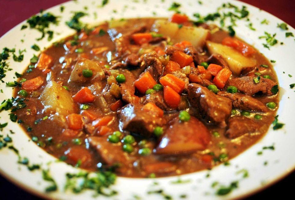 Irish stew is one of the Irish specialties
