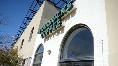 The Starbucks at 101 W. Park Ave. in