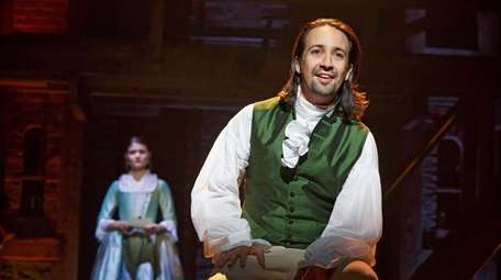 Lin-Manuel Miranda, who plays Alexander Hamilton in the