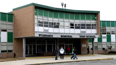 At the end of a Wyandanch school board